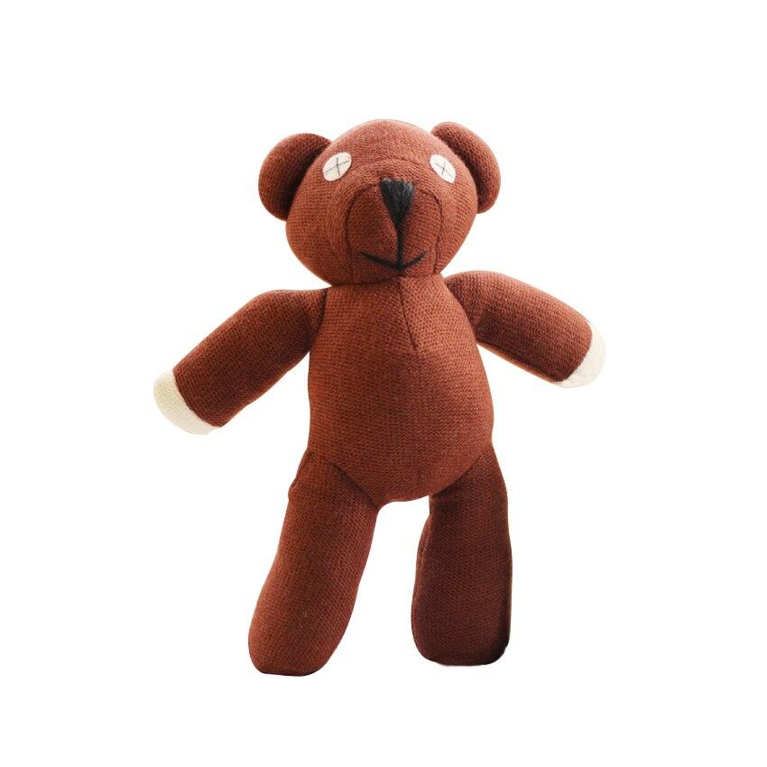 1pc 23 cm. De oso de peluche animal de peluche de juguete de dibujos animados marrón muñeca niño niños regalo juguetes de regalo de cumpleaños