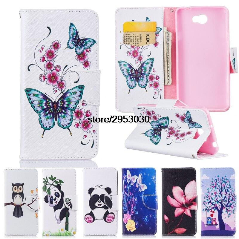 Flip Fall für Huawei Y5 ii 2 Y5ll CUN-L21 CUN-U29 CUN-L01 Brieftasche Stand Telefon Leder Abdeckung für Huawei Y5 2 y5ii CUN L21 U29 L01