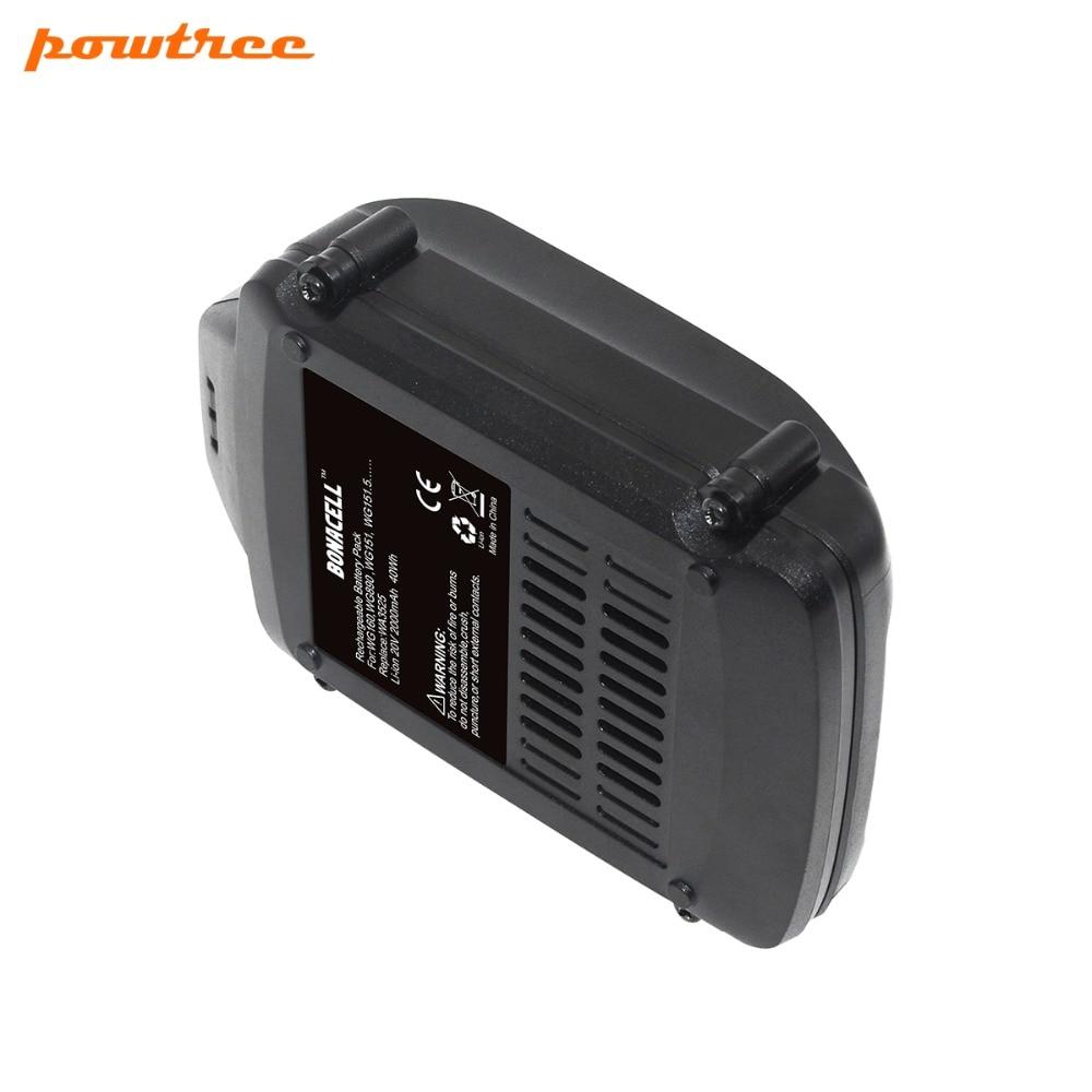 1500mAh 20V Li-Ion WA3520 batería recargable WORX WA3520 WG545 WG155 WG255 WG251 WG151 WG151.5 WG155 WG155.5 L10