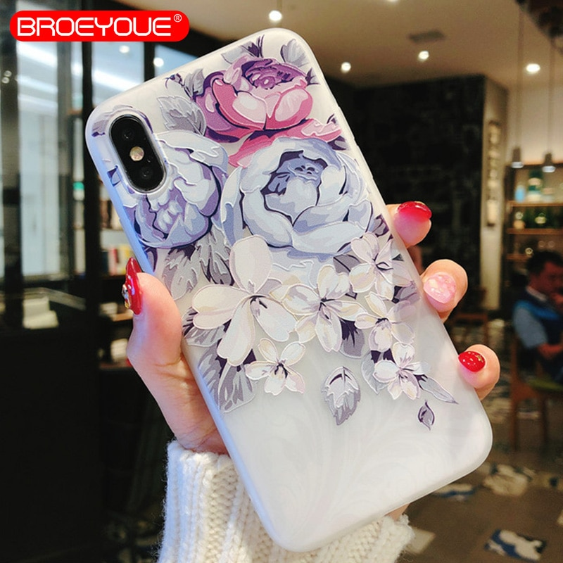 BROEYOUE Case For Xiaomi Redmi 5 Plus Mi A1 Mi5X 4X 4A Note 4 4X 5A 5 Pro TPU Cases For iPhone 5 5S SE 6 7 8 Plus X Cases Cover