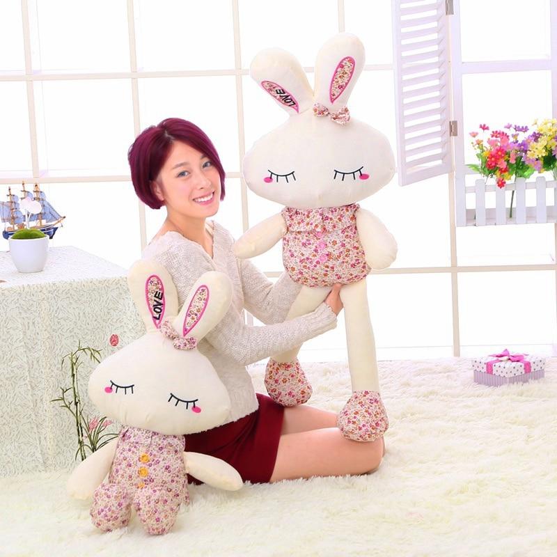 20/30 см мягкий цветочный Пасхальный Кролик плюшевая игрушка кролик Мягкий Кролик плюшевые мягкие игрушки для детей