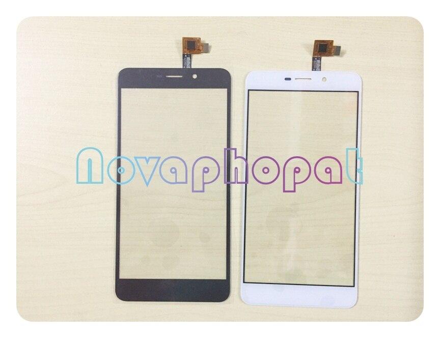 Novaphobat pantalla táctil negra/blanca para Umi Super pantalla táctil sustitución de la pantalla del Sensor digitalizador + seguimiento