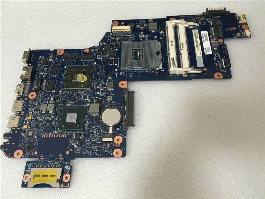 Yourui para H000046240 para toshiba satellite L870 DDR3 HM76 HD 7670 m 17.3 tela laptop motherboard mainboard teste completo