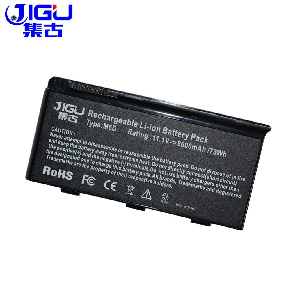 JIGU 9 Celle Batteria Del Computer Portatile Per MSI BTY-M6D GX780R GX780 GX660R GX660D GT780DXR GT780 GT70 GT683R GT683 GX780DX GX660DX Serie