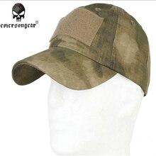 EMERSON, gorra militar de béisbol táctica, gorra del ejército, tela de rejilla antiarañazos, Camuflaje atfg EM8708, gorras de caza