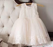 Vestido de verano de gasa con encaje para niñas vestido de princesa 2-8T E3122