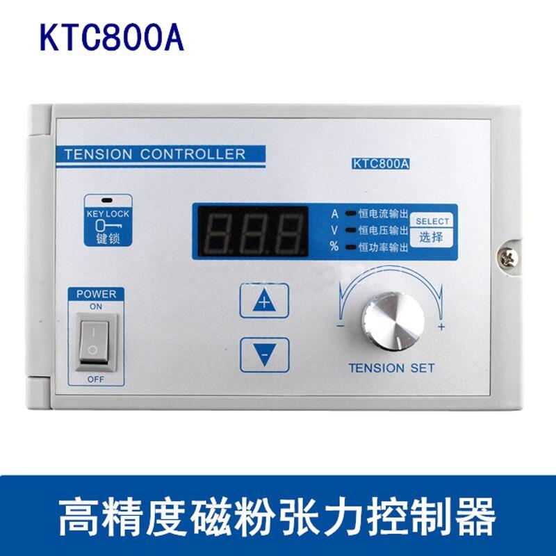 وحدة تحكم في آلة المسحوق المغناطيسي KTC800A ، شد يدوي 4A ، بتيار مستمر ، جهد ثابت وطاقة ثابتة