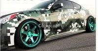 camouflage custom car sticker bomb camo vinyl wrap car wrap with air release bomb sticker car body sticker