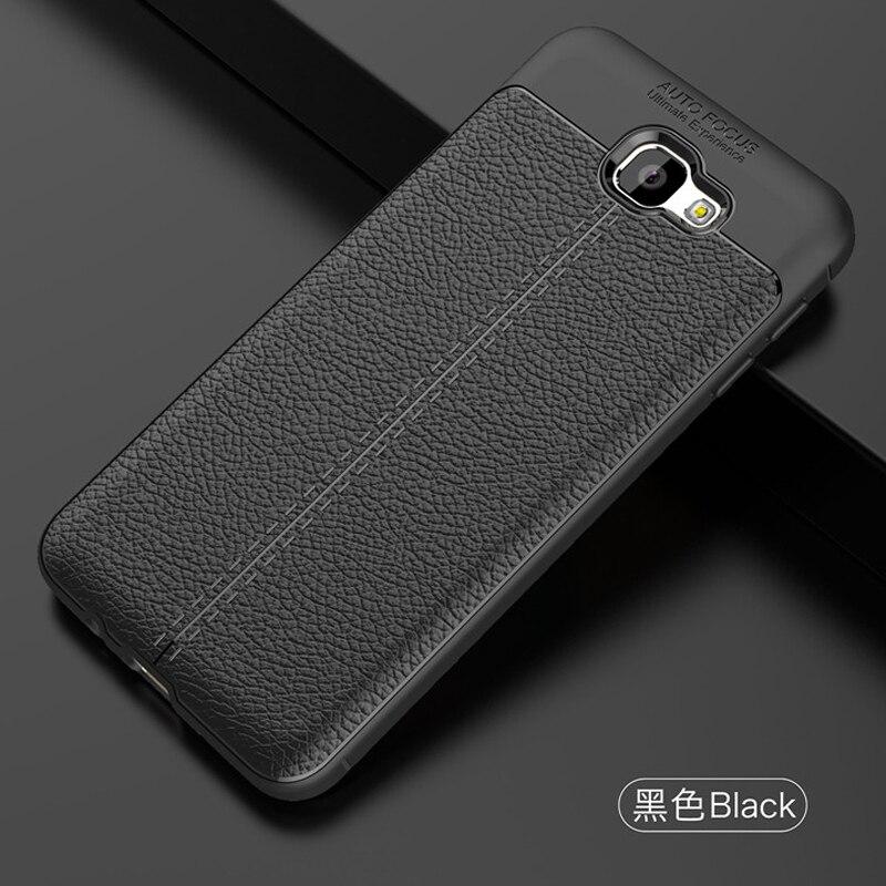 YUETUO lujo tpu teléfono back capinha, etui, coque, cubierta, funda para Samsung galaxy j5 prime on5 2016 silicona Accesorios