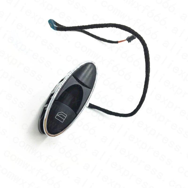 Interruptor de accionamiento de Ventanilla de puerta E220mer ced es-be nzE230 E240 E280 CLS300 W211 clase consola central ventana botón controlador de ascensor de vidrio