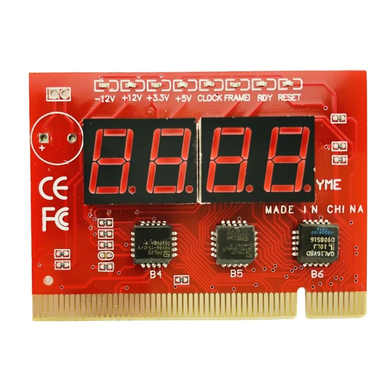 Tarjeta postal para placa base de ordenador portátil Mini PCI PCI-E LPC Post Test Tarjeta de diagnóstico probador placa base Analizador de pc componentes de ordenador