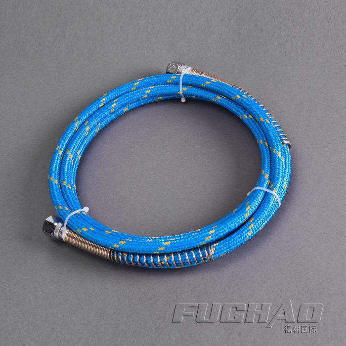 3M long high pressure Teflon Steam Iron Hose tube steam pipe   8KGF/CM2