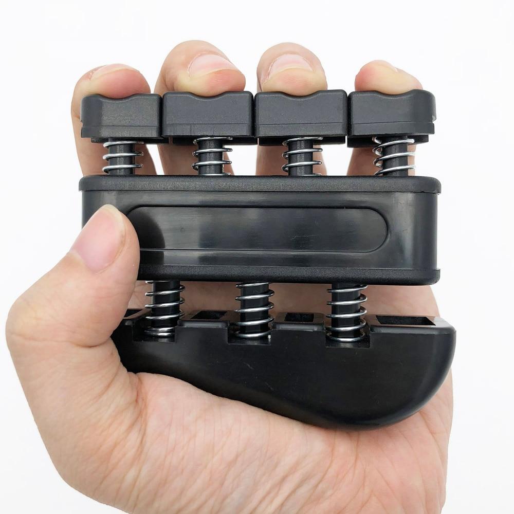 Пальчиковый тренажер для развития мышц пальцев руки, мощная ручка для тренировок, для гитары, бас, пианино,-5 фунтов, вес среднего напряжения