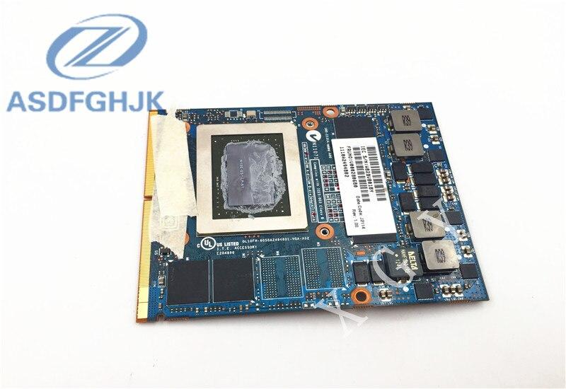 Видеокарта V000280680 для Toshiba для QOSMIO X875 X870 X775 X770 6050A2494B01-VGA-A02 N13E-GS-LP-A1 GTX 670M VGA