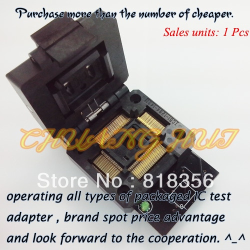 SU-PC8375S-PQFP128 Programmer Adapter IC51-1284-1433-10 PQFP128/QFP128 Adapter IC Test Socket/IC Socket (LP Programmer Adapter)