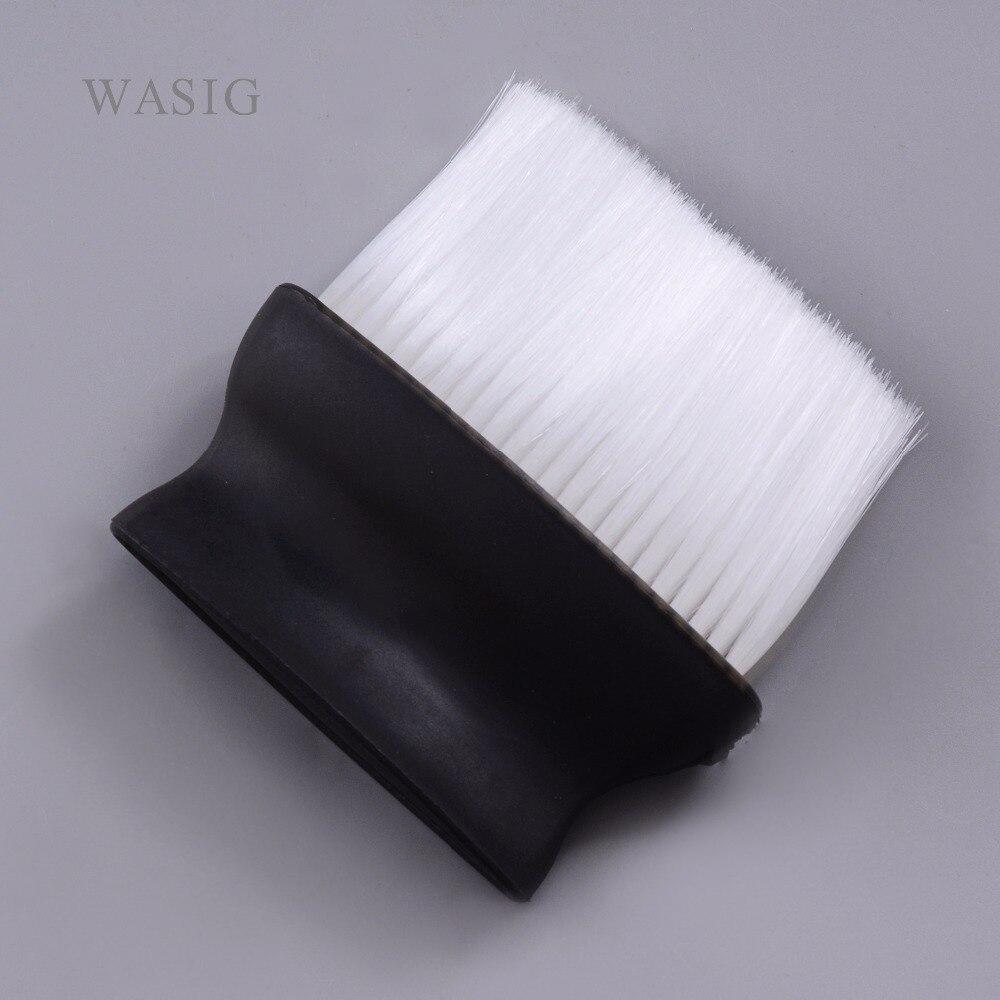 Pro preto ampla escova de limpeza do cabelo salão cabeleireiro pescoço poeira escova limpa para barbeiro corte cabelo ferramenta estilo