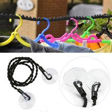 Faroot cintre de lavage Portable   Ligne à vêtements pour voyage Camping lavage vêtements corde lavage