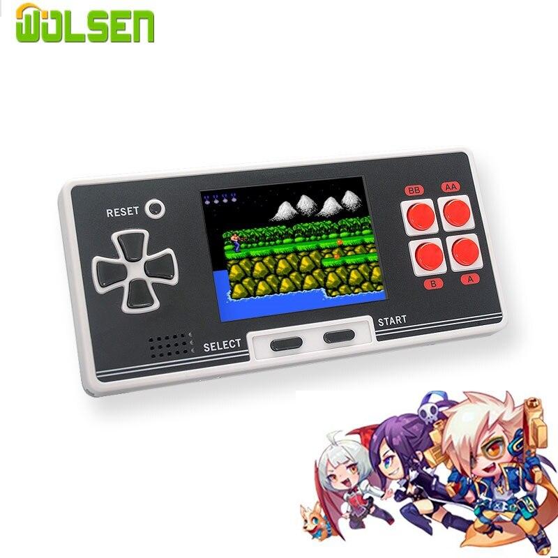WOLSEN, Mando de juegos clásico de 8 bits, consola de videojuegos retro de 2,8 pulgadas integrada en 200, mini bolsillo, el mejor regalo para chico