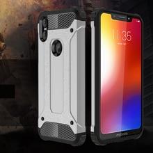 Housse de protection antichoc 5.86For Moto One étui pour Motorola Moto One P30 Play double Coque arrière pour téléphone