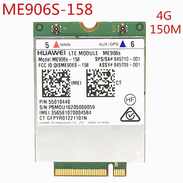 ME906s LTE M.2 Modul ME906S-158 WCDMA + HSPA GPS 3G 4G NGFF WLAN KARTE