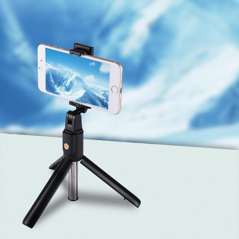 Palo de Selfie Universal para Bluetooth 4,0, monopié trípode soporte de teléfono plegable de pie libre para iPhone samsung huawei