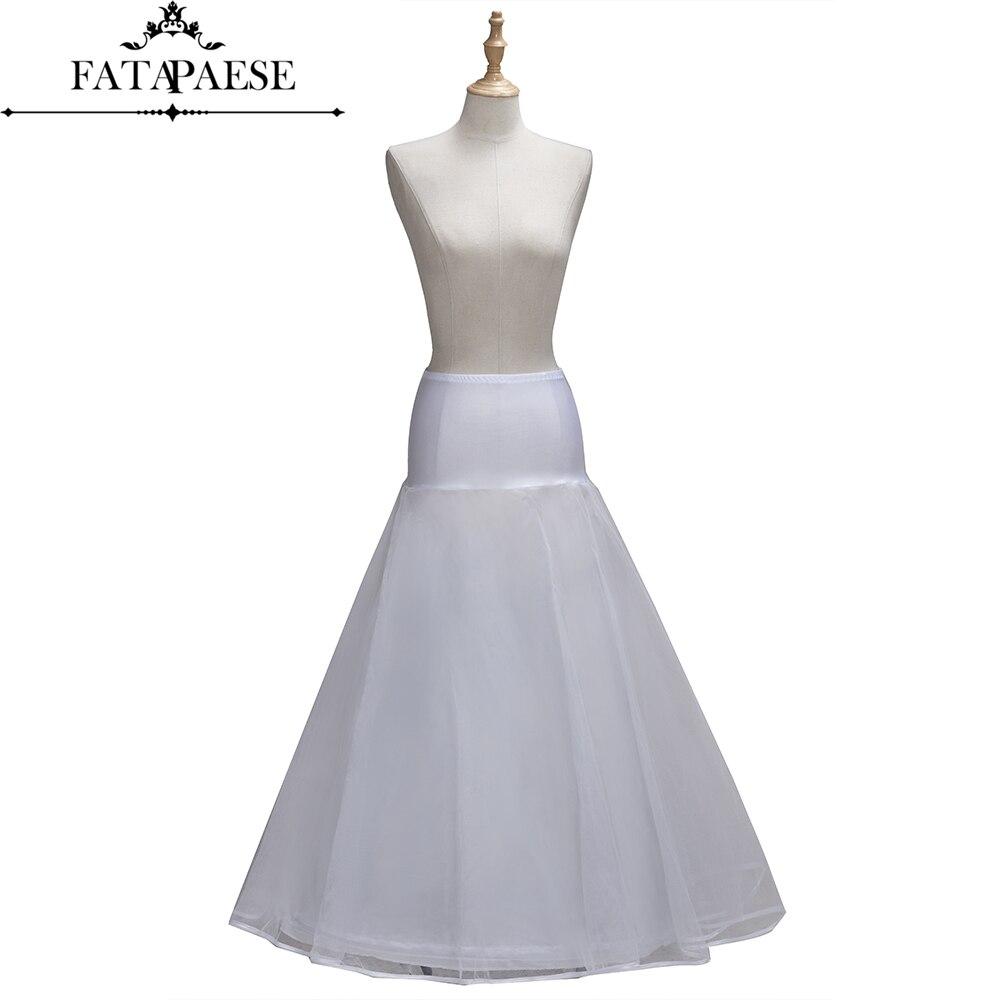 One Layer Tulle A-Line Petticoats 1 Hoop Bridal Underskirts Wedding Accessories Petticoat jupon crinoline Skirt Vestido De Novia