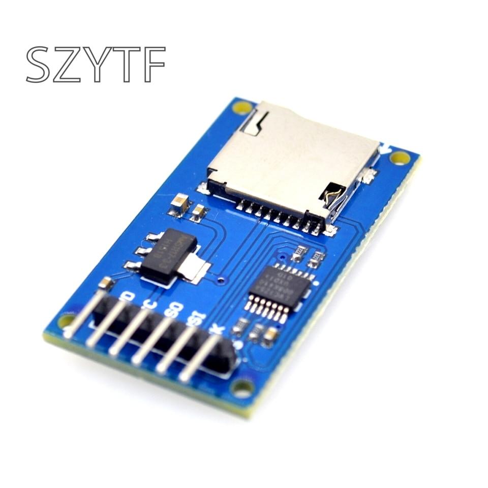 Micro SD Karte & SDHC (high-speed-karte) mini TF Kartenleser Modul Adapter SPI Schnittstellen mit Level-Converter Chip für Arduino