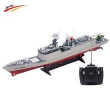 RC bateau 1/275 Destroyer navire de guerre télécommandé navires navals militaires bateau de course modèle électronique pour enfants anniversaire passe-temps jouets