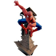 Spider Man Spiderman Figure 039 Peter Parker Spider-Man Iron Man Civil War 16CM  PVC Action Figures Doll Toys