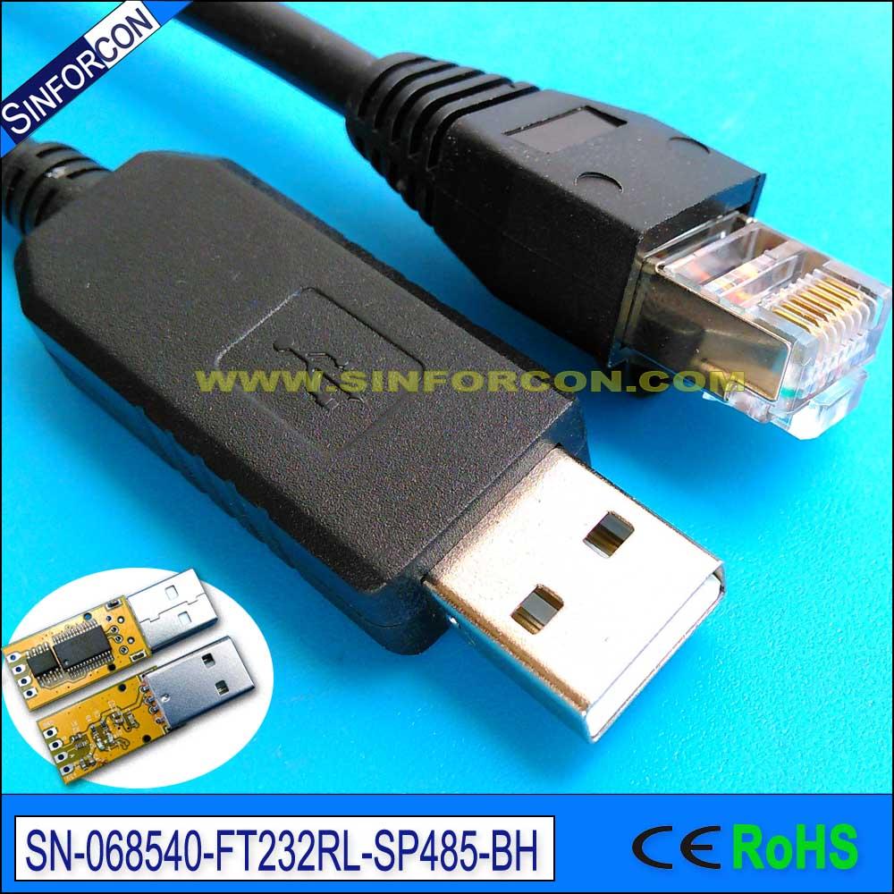 كابل محول USB RS485 ، يدعم FTDI FT232RL ، Win10 ، Android ، Win8 ، Mac