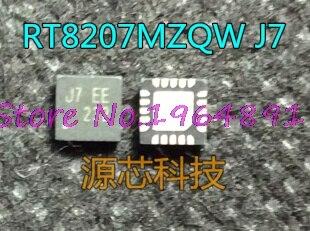 5 unids/lote RT8207MZQW RT8207M J7 = FA J7 = SS J7 QFN-20 en Stock