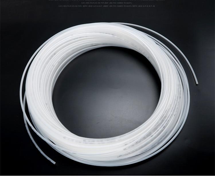 Tubo de aceite de nailon PA para sistema de lubricación, 6mm de diámetro, 6mm x 4mm por volumen