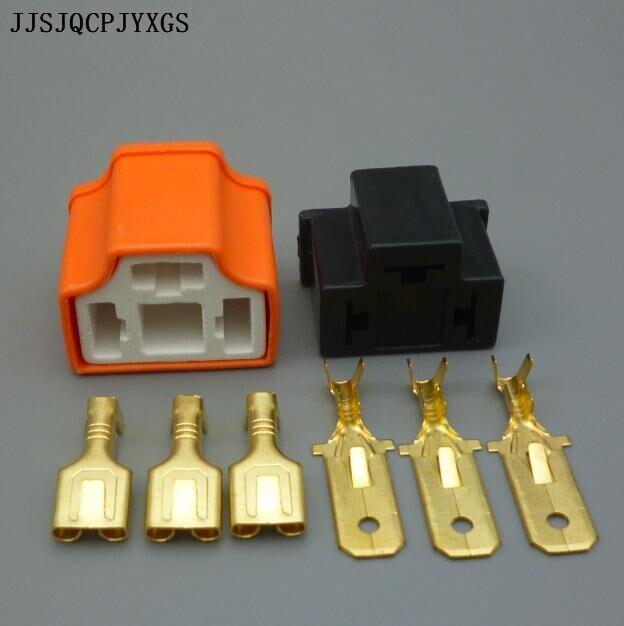 JJSJQCPJYXGS H4 adaptador enchufe de cerámica impermeable 7,8mm HB2 conector macho hembra coche HID Xenon H4 enchufe de la bombilla