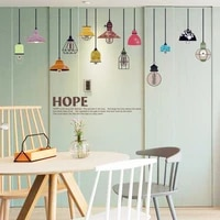diy colourful droplight modern home decoration wall sticker pvc living room bedroom wall decals poster mural