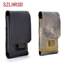 SZLHRSD coque de téléphone extérieure pour FinePower D1 universel militaire tactique étui ceinture sac taille pour Oppo A83 Pro Sonim XP8