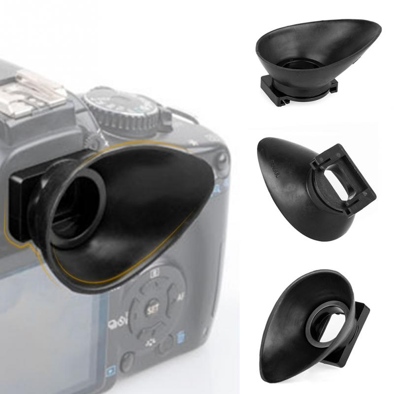 ¡Producto en oferta! ocular de goma para cámara Canon 550D/300D/350D/400D/60D/600D/500D/450D DSLR Cámara Eye accesorios 18mm &
