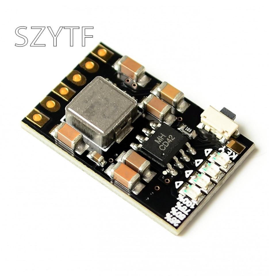 2A 5V descarga de carga integrada 3,7 V 4,2 V batería de litio Boost protección de energía móvil Diy Módulo de placa PCB electrónica