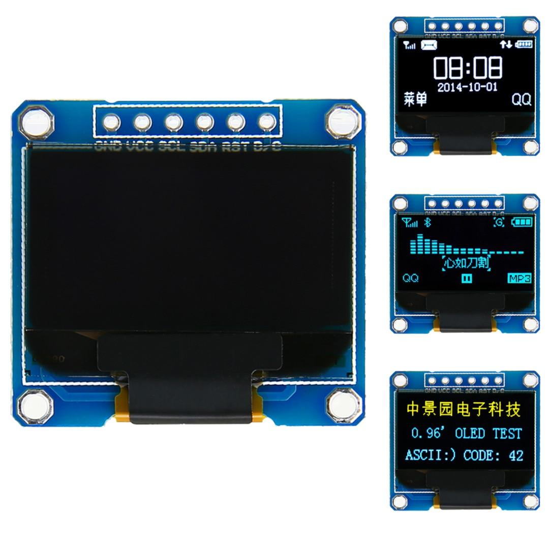 Elektronische OLED Display Modul 0,96 zoll 128X64 Gelb Blau Weiß OLED I2C IIC Serielle LCD LED SSD Display modul SSD130623