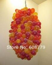 Free Shipping European Design Hand Blown Glass Bubble Chandelier
