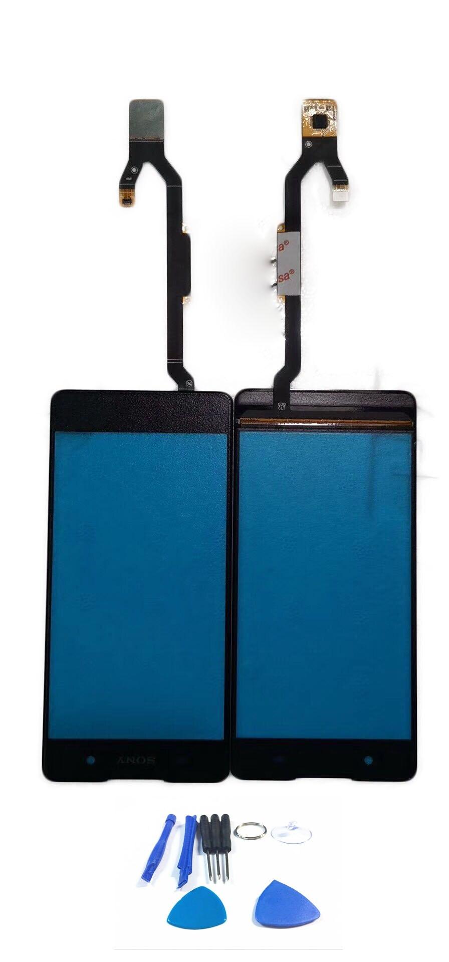 "5,0 ""Panel táctil para Sony Xperia E5 f3311 f3313 Digitalizador de pantalla táctil Sensor de recambio de lentes de vidrio frontal + herramienta"