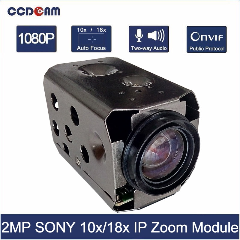 1080P SONY IP 10x 18x зум-модуль камеры HD 1/2.8