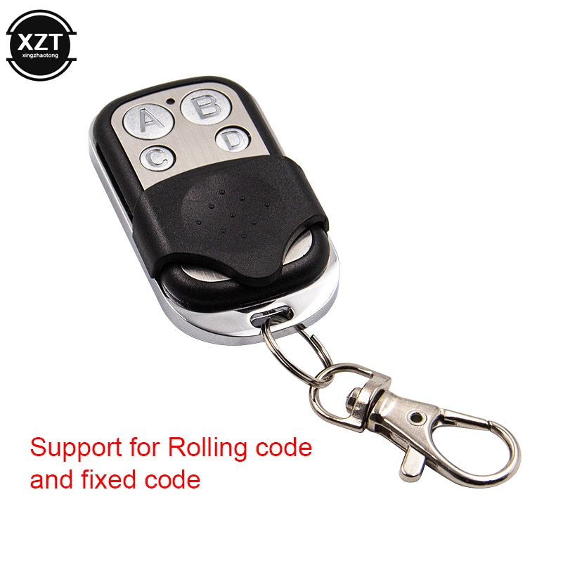Mando a distancia Universal 433,92 MHZ clonación remota Auto puerta de garaje duplicador código rodante para PT2262 PT2264 SC2260