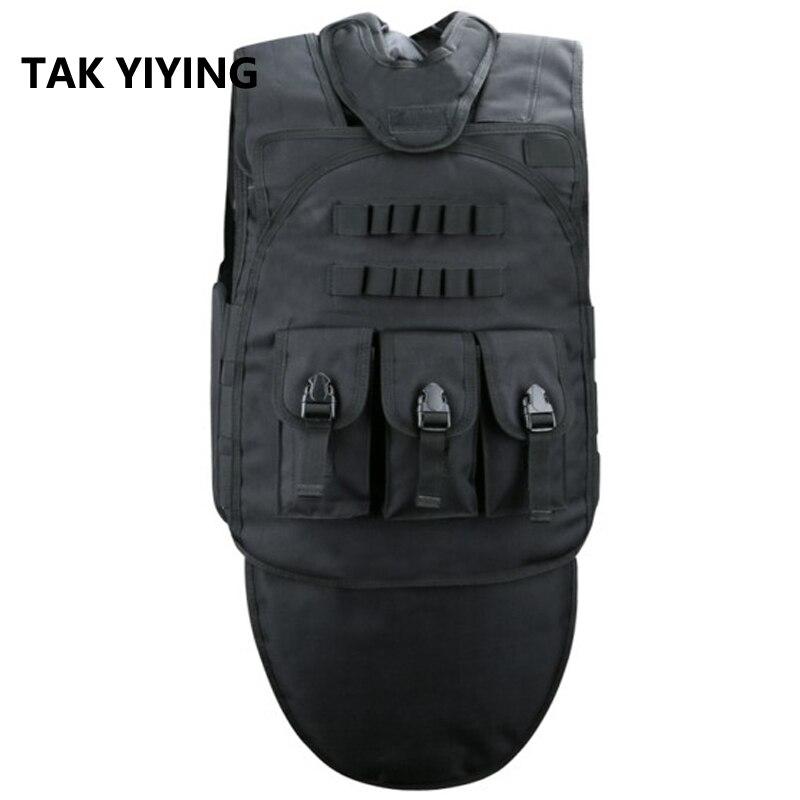 Chaleco táctico TAK YIYING, armadura de cuerpo militar, nailon, Airsoft, combate, asalto, chaleco protector