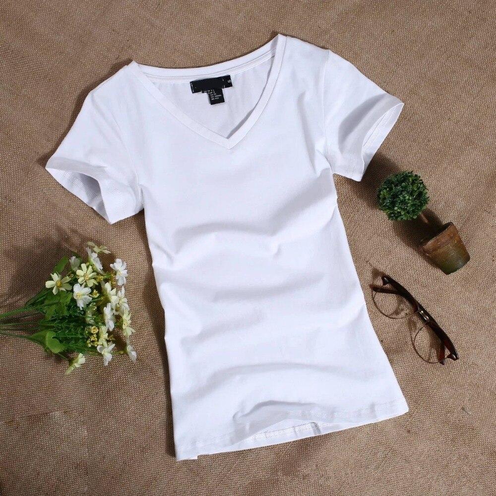 MRMT 2019 Women's T Shirt Women Short Sleeved Slim Solid Color Womens Simple Tee T-Shirt For Female Tshirt