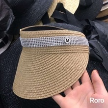 01901-axi new spring   leisure lady VISORS cap women baseball   hat
