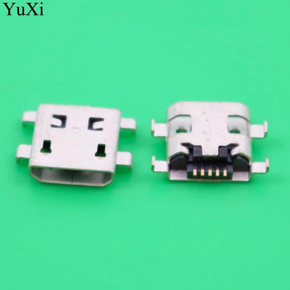 Micro conector mini USB Acoplamiento de conector 5pin para Alcatel One Touch POP 7 P310A Acer ICONIA A1-830 A1-810 de puerto de carga