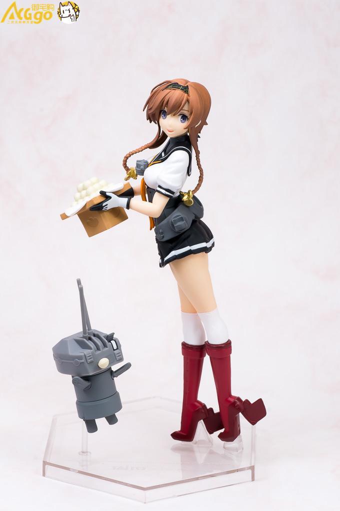 Figura Original de anime TATIO kantai collection de 18cm de 1 Uds.-Kan colle-teruzuki figura de acción juguetes de modelos coleccionables para niños