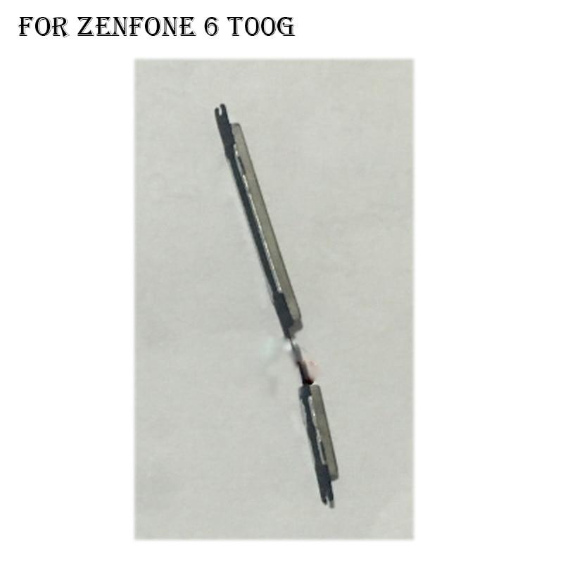 Para Asus zenfone 6 T00G botón de encendido y apagado + botón de volumen botón lateral establecido piezas de repuesto para zenfone g T 00G