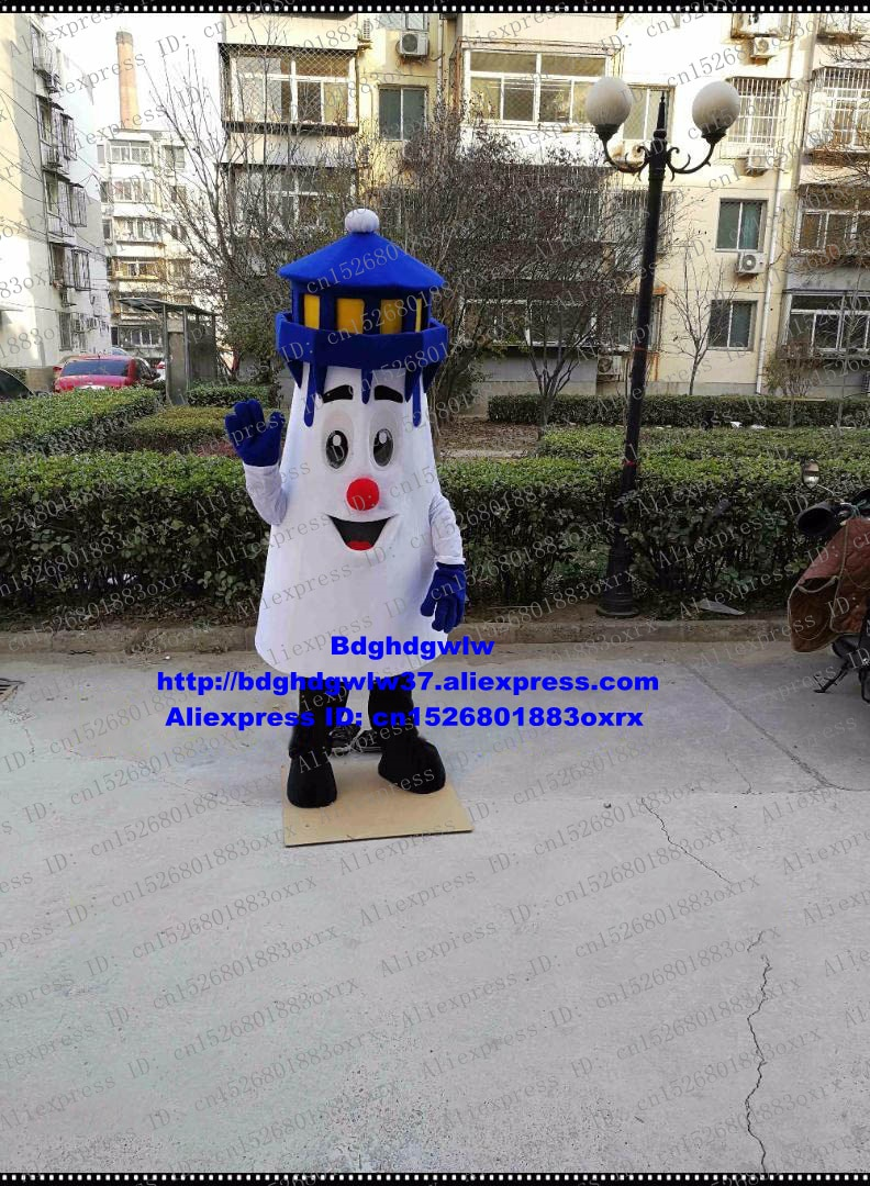 Phare Phare Phare Pharos mascotte Costume adulte dessin animé personnage tenue Costume Festival culturel scène Performance zx769