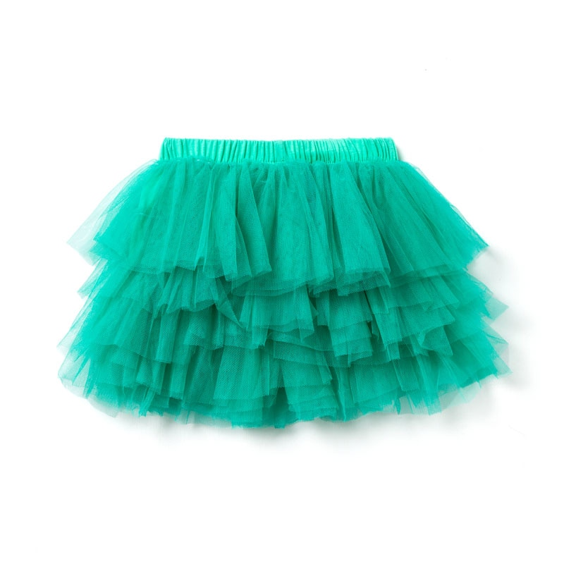Юбка пачка для девочек 2 6 лет, однотонная Повседневная газовая мини юбка для детей Юбки    АлиЭкспресс